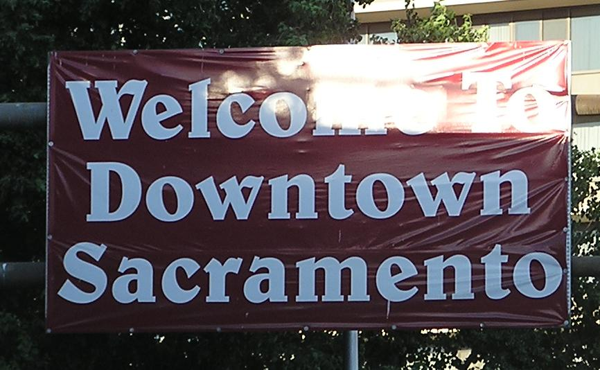 Travel through Downtown Sacramento